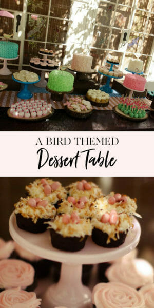 Tiffani Thiessen's daughter Harper turns 2! | second birthday party decor | girl birthday party themes | decorating for a second birthday || JennyCookies.com #kidsbirthdayparty #kidsparties #desserttable #partyideas #jennycookies