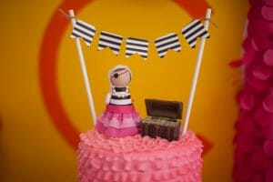 Pirate Princess Party   Harper Thiessen Turns 3!   toddler birthday party ideas   birthday parties for girls   princess themed birthday party   how to throw a toddler birthday party   three year old birthday party ideas   birthday party ideas for kids    JennyCookies.com