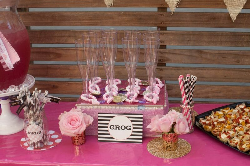 Pirate Princess Party | Harper Thiessen Turns 3! | toddler birthday party ideas | birthday parties for girls | princess themed birthday party | how to throw a toddler birthday party | three year old birthday party ideas | birthday party ideas for kids || JennyCookies.com
