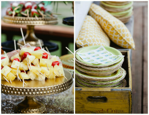 How to Throw a Pineapple Themed Party | summer party ideas | pineapple decor | pineapple party recipes | unique summer parties || JennyCookies.com #summerparties #pineappledecor #funpartyideas
