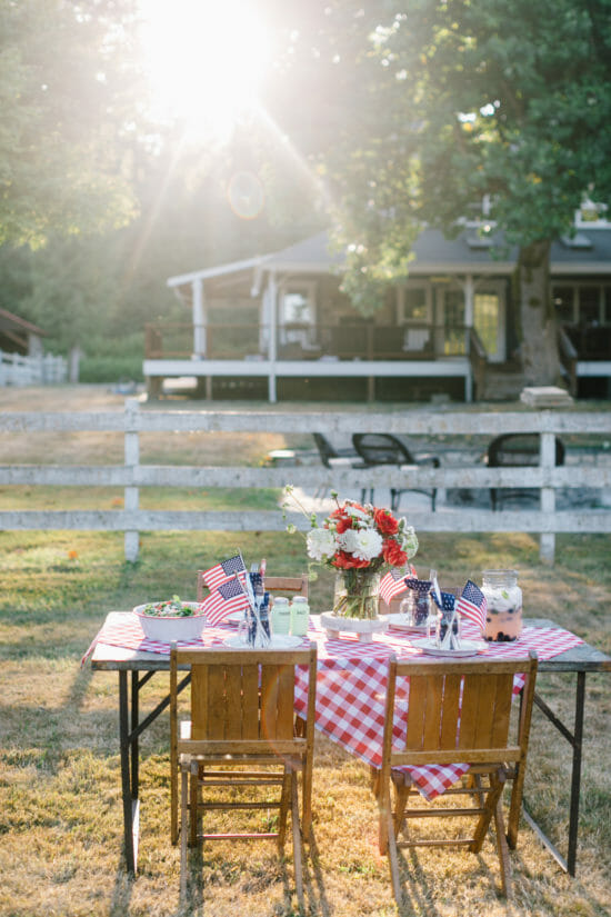 how to host an outdoor dinner party