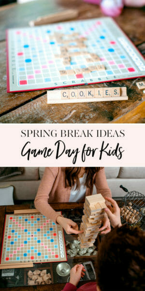 Game Day Ideas for Kids | fun kids ideas | staycation ideas | game ideas for kids | kid friendly games || JennyCookies.com #gameday #kidsgames #staycation
