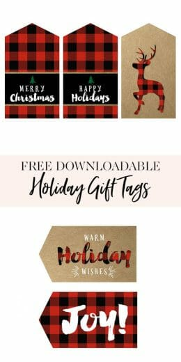 If you're on the hunt for cute holiday gift tags, these free printable gift tags are perfect for your DIY gifts this season! || JennyCookies.com #freeprintable #gifttags #diygifttags